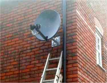 64cm Triax dish with UK Freesat/Sky AND German Channel