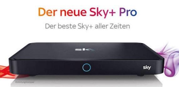 Sky + Pro Receiver